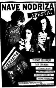 NAVE NODRIZA + CROCOPULPOS @ SALA KING KONG | Zaragoza | Aragón | España