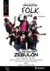 CLANDESTINE FOLK CLUB @ CENTRO CÍVICO SÁNCHEZ PUNTER | Zaragoza | Aragón | España