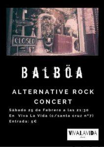 BALBÖA @ VIVA LA VIDA | Zaragoza | Aragón | España
