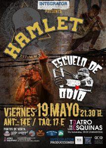 HAMLET + ESCUELA DE ODIO @ TEATRO DE LAS ESQUINAS | Zaragoza | Aragón | España