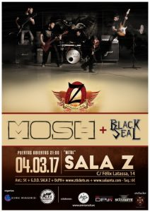 MOSH + BLACK SEAL @ SALA ZETA | Zaragoza | Aragón | España