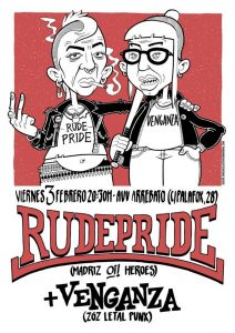 RUDE PRIDE + VENGANZA @ AVV ARREBATO | Zaragoza | Aragón | España