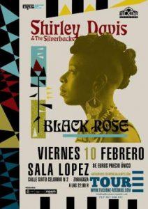 SHIRLEY DAVIS & THE SILVERBACKS @ SALA LOPEZ | Zaragoza | Aragón | España