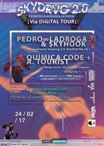 SKYDRVG + QUIMICA CODE + A. TOURIST @ SALA LÓPEZ | Zaragoza | Aragón | España