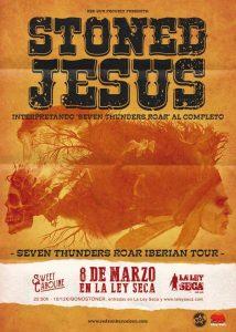 STONED JESUS @ LA LEY SECA | Zaragoza | Aragón | España