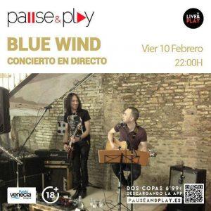 BLUE WIND @ PAUSE & PLAY | Zaragoza | Aragón | España