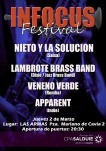 INFOCUS FESTIVAL @ LAS ARMAS | Zaragoza | Aragón | España