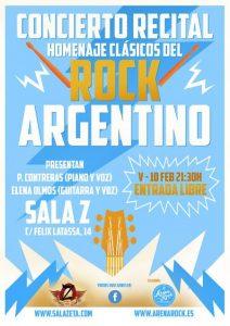 HOMENAJE A LOS CLÁSICOS ARGENTINOS DEL ROCK @ SALA ZETA | Zaragoza | Aragón | España