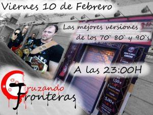 CRUZANDO FRONTERAS @ ROCK & ROLL CIRCUS | Zaragoza | Aragón | España
