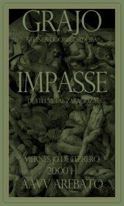 GRAJO + IMPASSE @ AVV ARREBATO | Zaragoza | Aragón | España