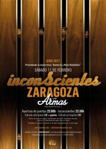 INCONSCIENTES @ LAS ARMAS | Zaragoza | Aragón | España
