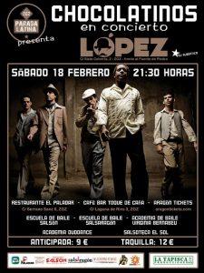 LOS CHOCOLATINOS @ SALA LÓPEZ   Zaragoza   Aragón   España