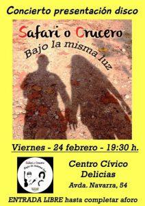 SAFARI O CRUCERO @ CENTRO CÍVICO DELICIAS | Zaragoza | Aragón | España