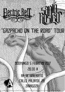 SANTO ROSTRO + ELECTRIC BELT @ AVV ARREBATO | Zaragoza | Aragón | España
