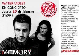WATER VIOLET @ MEMORY | Zaragoza | Aragón | España