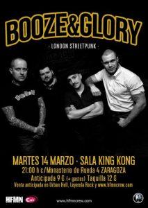 BOOZE & GLORY @ SALA LÓPEZ | Zaragoza | Aragón | España