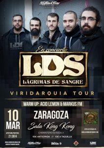 LÁGRIMAS DE SANGRE @ SALA KING KONG | Zaragoza | Aragón | España