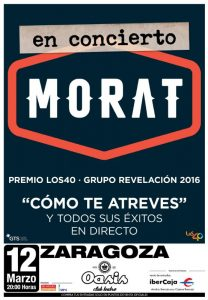 MORAT @ OASIS CLUB TEATRO | Zaragoza | Aragón | España