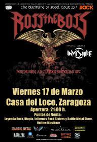 ROB THE BOSS + ANCILLOTTI @ LA CASA DEL LOCO | Zaragoza | Aragón | España