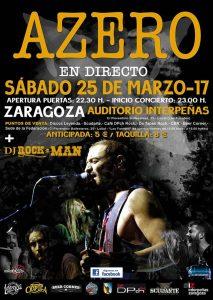 AZERO @ AUDITORIO DE INTERPEÑAS | Zaragoza | Aragón | España