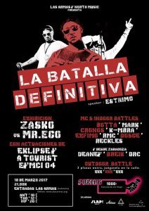 LA BATALLA DEFINITIVA: campeonato freestyle @ LAS ARMAS | Zaragoza | Aragón | España