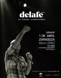 DELAFÉ @ SALA LÓPEZ | Zaragoza | Aragón | España