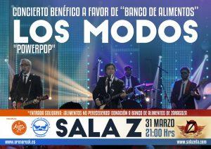 LOS MODOS @ SALA ZETA   Zaragoza   Aragón   España