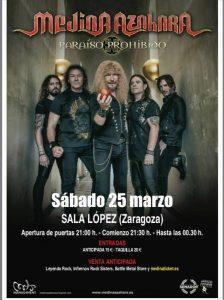 MEDINA AZAHARA @ SALA LÓPEZ | Zaragoza | Aragón | España