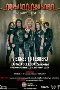 MEDINA AZAHARA @ LA CASA DEL LOCO | Zaragoza | Aragón | España
