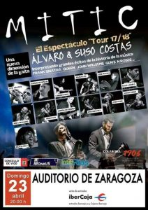 ÁLVARO Y SUSO COSTAS @ SALA MOZART | Zaragoza | Aragón | España