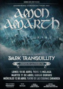 AMON AMARTH @ TEATRO DE LAS ESQUINAS | Zaragoza | Aragón | España