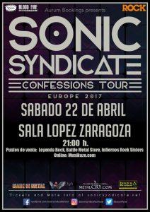 SONIC SYNDICATE @ SALA LÓPEZ | Zaragoza | Aragón | España