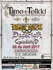 TIMO TOLKKI @ CENTRO CÍVICO DELICIAS | Zaragoza | Aragón | España