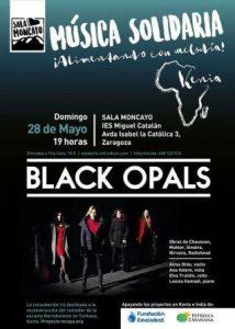 BLACK OPALS @ IES MIGUEL CATALAN | Zaragoza | Aragón | España