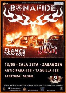 BONAFIDE @ SALA ZETA | Zaragoza | Aragón | España