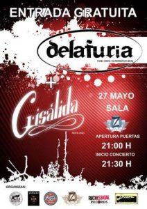 CRISÁLIDA + DELAFURIA @ SALA ZETA | Zaragoza | Aragón | España