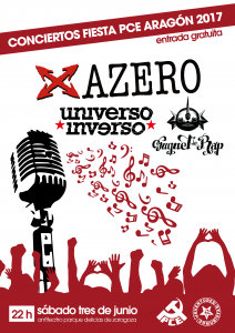 AZERO + UNIVERSO INVERSO + SUQUET DE RAP @ ANFITEATRO PARQUE DELICIAS | Zaragoza | Aragón | España