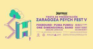 PRESENTACIÓN DEL ZARAGOZA PSYCH FEST @ ROBBY ROBOT | Zaragoza | Aragón | España