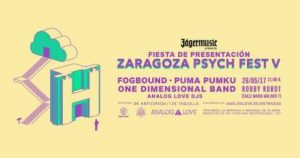 PRESENTACIÓN DEL ZARAGOZA PSYCH FEST @ ROBBY ROBOT   Zaragoza   Aragón   España