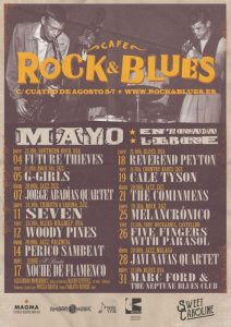 REVEREND PEYTON @ ROCK & BLUES | Zaragoza | Aragón | España