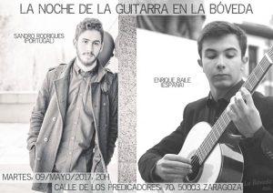 SANDRO RODRIGUES Y ENRIQUE BAILE @ LA BÓVEDA DEL ALBERGUE | Zaragoza | Aragón | España