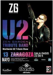 ZEN GARDEN - TRIBUTO A U2 @ OASIS CLUB TEATRO | Zaragoza | Aragón | España