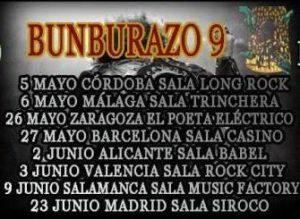 BUNBURAZO @ EL POETA ELECTRICO | Zaragoza | Aragón | España