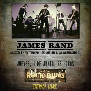 JAMES BAND @ ROCK & BLUES  | Zaragoza | Aragón | España