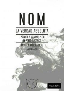 NOM @ EL POETA ELECTRICO | Zaragoza | Aragón | España