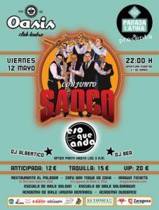 CONJUNTO SAOCO + ESO QUE NO ANDA @ SALA OASIS | Zaragoza | Aragón | España