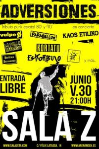 ADVERSIONES @ SALA ZETA | Zaragoza | Aragón | España
