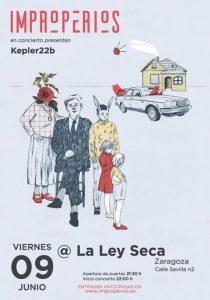 IMPROPERIOS @ LA LEY SECA | Zaragoza | Aragón | España