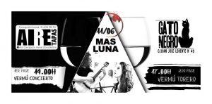 MAS LUNA @ GATO NEGRO | Zaragoza | Aragón | España