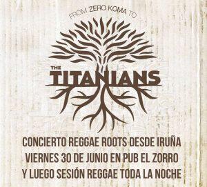 THE TITANIANS @ PUB EL ZORRO | Zaragoza | Aragón | España